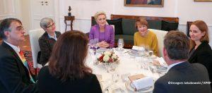 Wspólny patronat Pani Agaty Kornhauser-Dudy, Małżonki Prezydenta Rzeczypospolitej Polskiej i Pani Elke Büdenbender, Małżonki Prezydenta Republiki Federalnej Niemiec